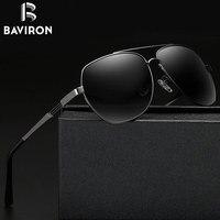 BAVIRON 2017 Projekta Mężczyzna Okulary Klasyczne Okulary Jazdy Ładny Aluminiowa Rama UV400 Spolaryzowane Mężczyzna Okulary Przeciwsłoneczne Okulary 17006