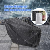 Universal Bicycle Cover Waterproof Outdoor Bicycle Cover Foldable Bike Storage Bag for MTB Rain Snow Dust Protective Cubiertas