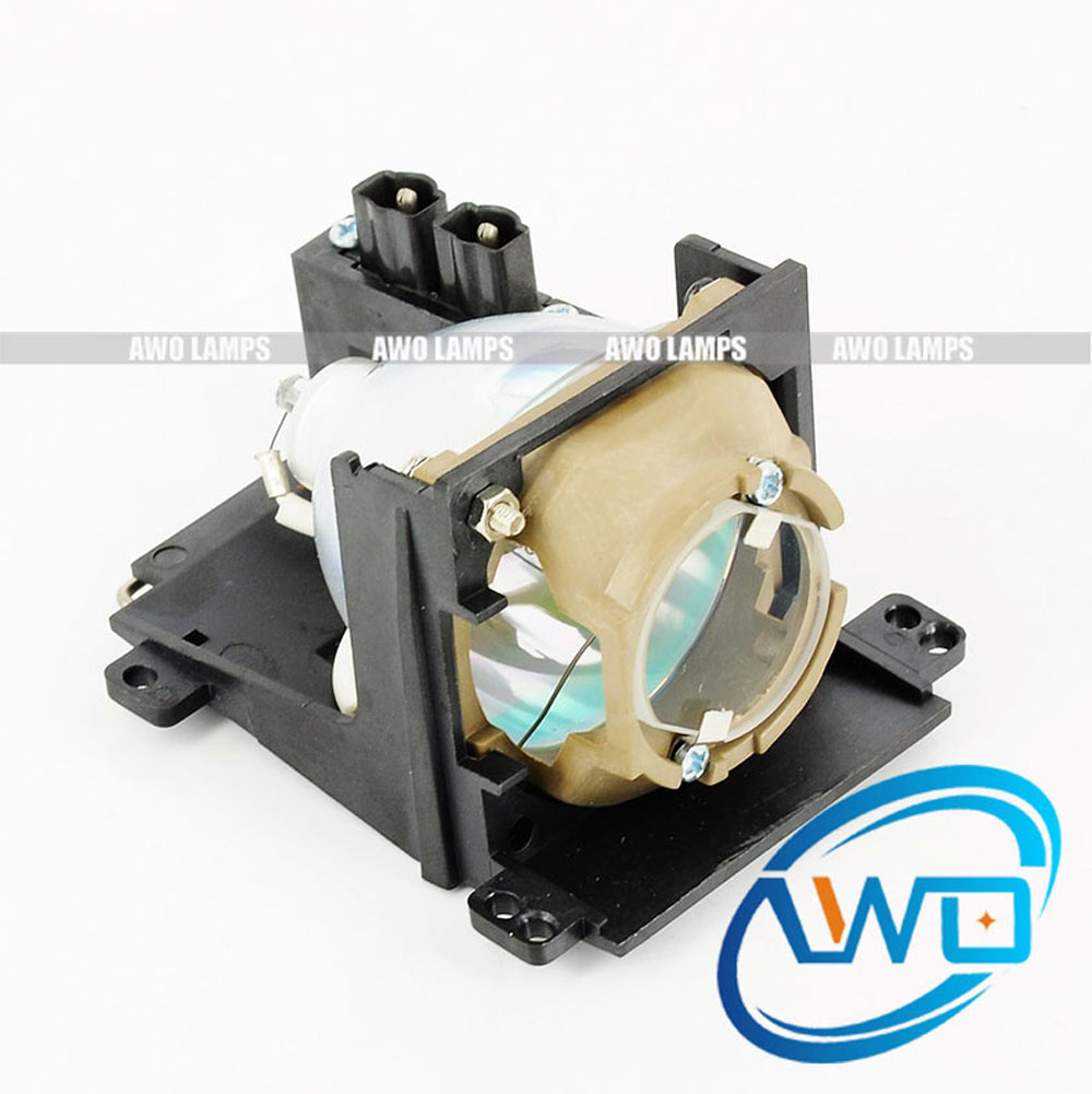 все цены на AWO Replacement Projector Lamp 310-1705 / 730-10632 with Housing for DELL Brand Projector 3100MP Fast Shipping онлайн