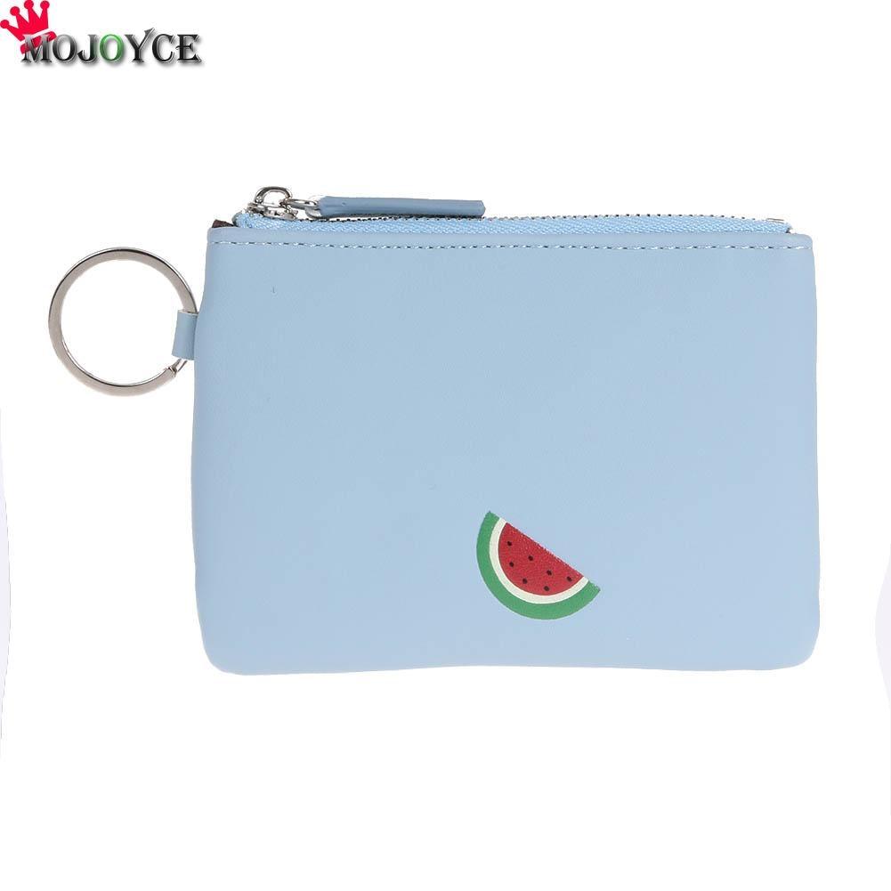 New Arrive Fashion Women Wallet Girls Cute PU leather Fruit Coin Purse Wallet Female Bag Change Pouch Key Holder