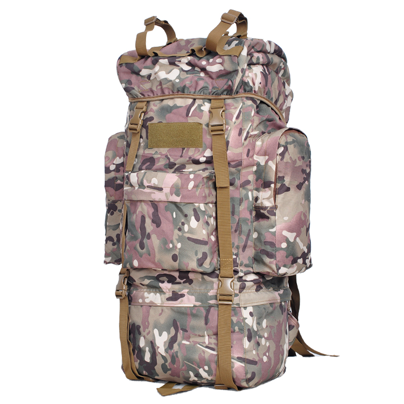 65L Tactical Bag Laptop Backpack Outdoor Bag Men & Women Travel Bags Sport Male Hiking Traveling Backpacks mochila masculina New fire maple sw28888 outdoor tactical motorcycling wild game abs helmet khaki