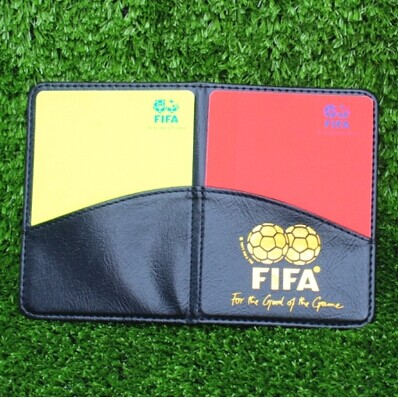 Authentic soccer referee gear soccer red and yellow belt holster premium soccer red cards and yellow cards records ...