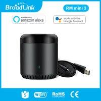 Original broadlink rm mini3 universal inteligente wifi/ir/4g controle remoto sem fio via ios android casa inteligente automação