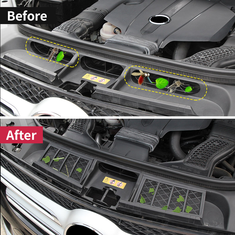 Air Inlet Protection Cover Of Engine For Mercedes Benz ML350 2012 GLE W166 Coupe C292 GLS Gl Vehicle Preventing Dust Sundries