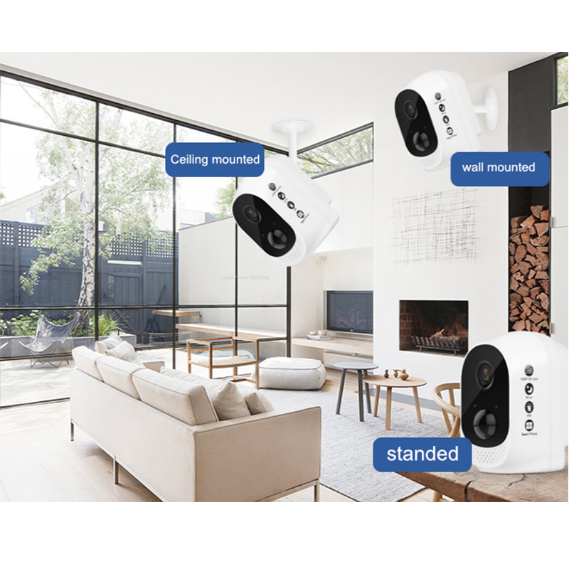 Image 5 - 1080P Waterproof Security Battery Wifi IP CCTV Camera Wire Free Easy Installation Two Way Audio Motion Sensor ICloud Service-in Surveillance Cameras from Security & Protection