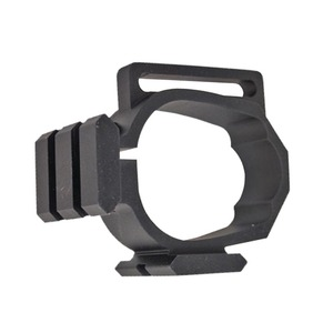 Image 5 - Tactical Barrel Band For Ruger 10/22 Two Picatinny rails & Sling Slot Expand Accessory Mounting Options Black Free Shipping