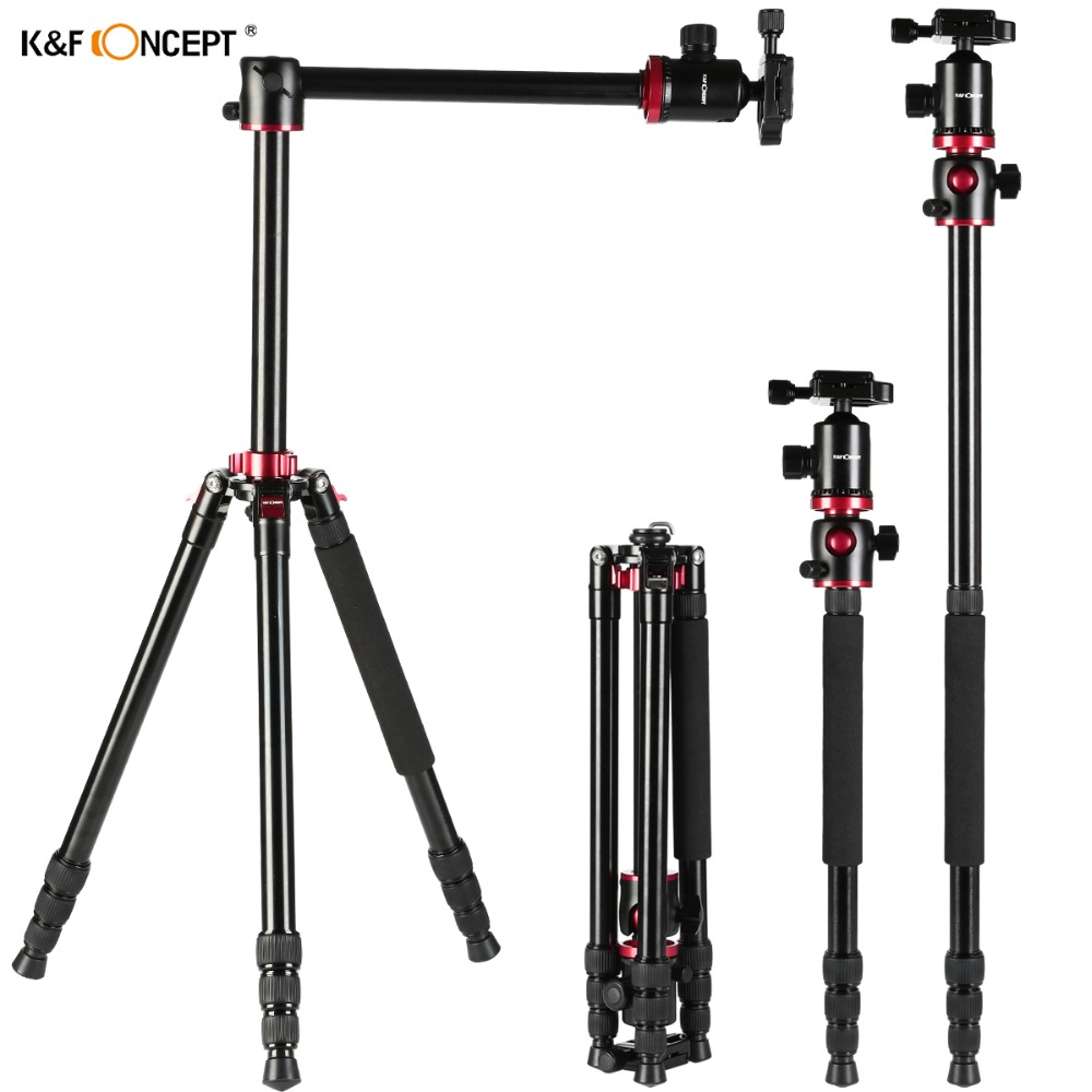 popular being professional buy cheap being professional lots from kf tm2534t camera tripod stand transverse center column tripod detached to be monopod 2