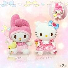 Cute Cartoon Hello Kitty My Melody Plush Backpack Hello Kitty My Melody Woman