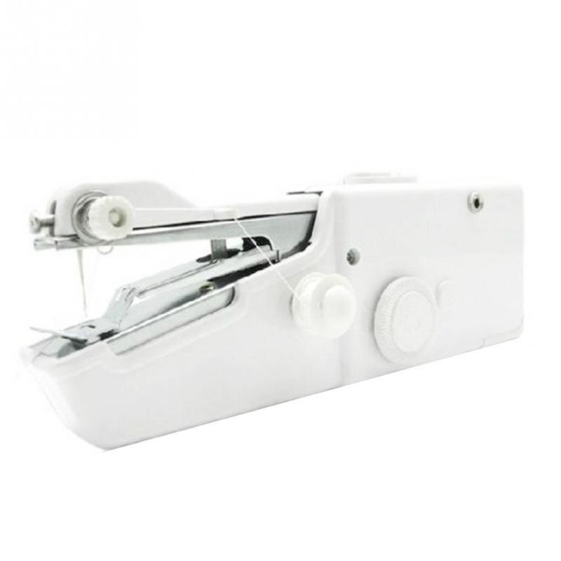 Ručni mini šivaći stroj Prijenosni džepni priručnik za šivanje - Umjetnost, obrt i šivanje - Foto 2