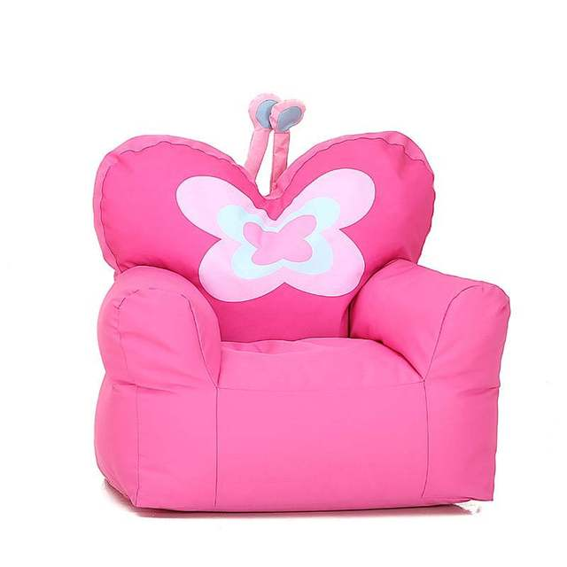 Magnificent Chpermore Cute Cartton Butterfly Bean Bag Lazy Sofa Comfortable Living Room Sofa Children Girls Students Kids Tatami Chair Inzonedesignstudio Interior Chair Design Inzonedesignstudiocom