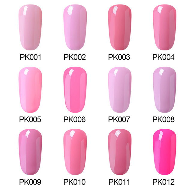 Elite99 60 ML Rosa Farbe Serie UV Gel Nagellack Reine Farbe Nagel Gel Tränken Weg DIY Nagel Kunst maniküre Gel Lacke Lack