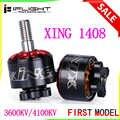 IFlight XING 1408 3600KV 4100KV 2-4S fırçasız motor CW vida dişi RC Drone FPV için yarış yedek parçaları