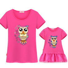Soft Cotton Summer Family Matching Outfits