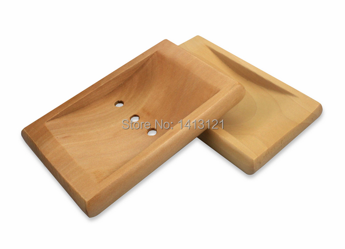 free shipping wooden soap dishes house items supply soapbox creative Bathroom Accessories soap holder soap tray diy parts