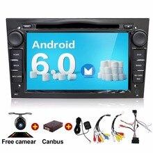 Android 6.0 Quad Core 1024*600 2 Din Coche Reproductor de DVD Para Opel Astra Vectra Zafira Antara Corsa GPS de Navegación Radio Audio Video