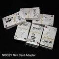 Dhl libre 1000 unids/lote los nuevos q-sim dual tarjetas sim adaptadores shell, nueva llegada dual simadapters para iphone 4 5 5s 6.