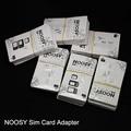 Dhl livre 1000 pçs/lote o mais novo q-sim dual simcards adaptadores shell, new arrival dual simadapters para iphone 4 5 5s 6.