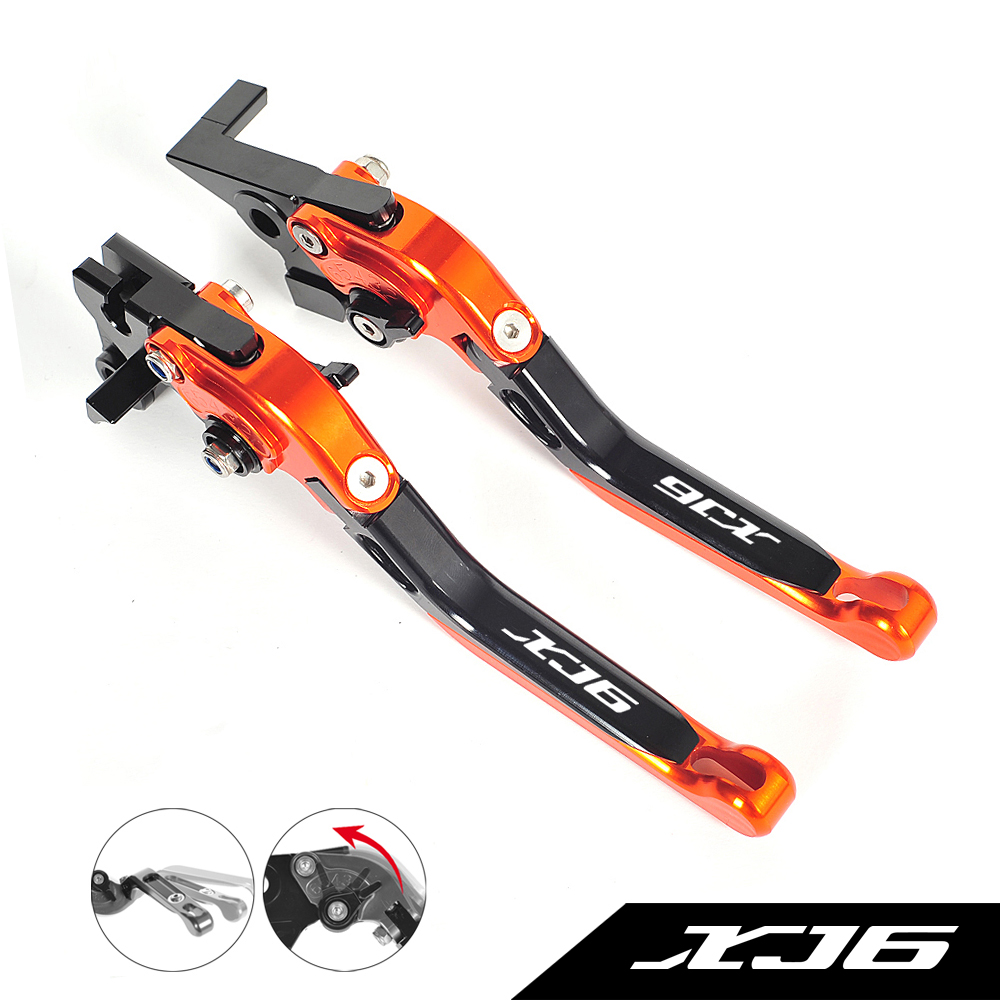 Motorcycle Accessories Foldable Lever Motocross Brake Clutch Levers Case for Yamaha XJ6 Diversion XJ 6 2009-2015