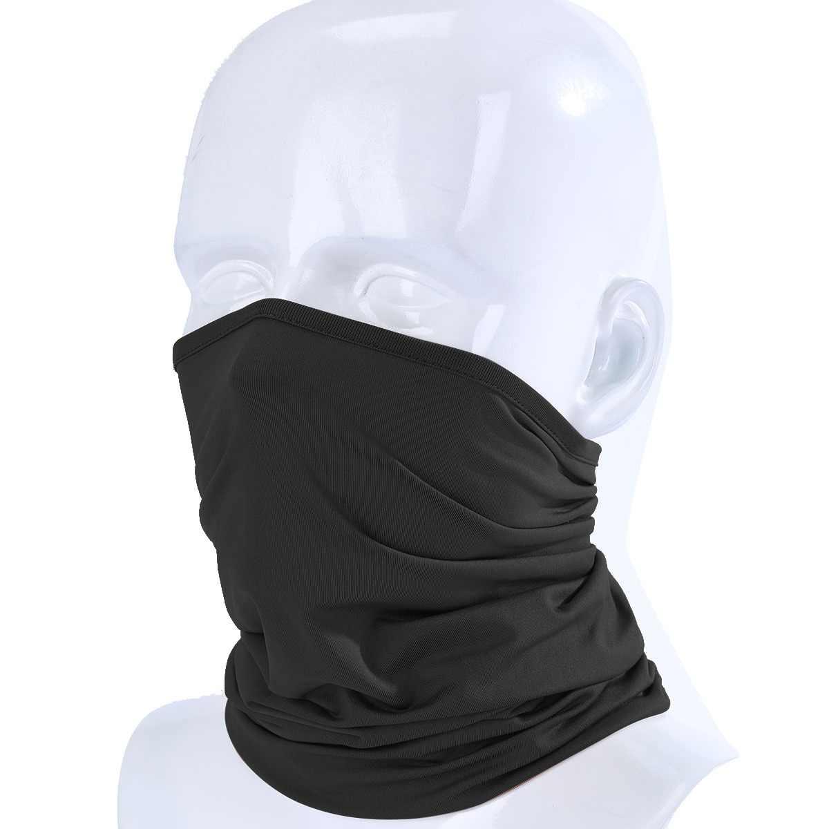 e0f6aeae5ad Magic Headband Elastic Breathable Neck Gaiter Warmer Tube Scarf Half Face  Mask Bandana Headwear Bicycle Sweatband