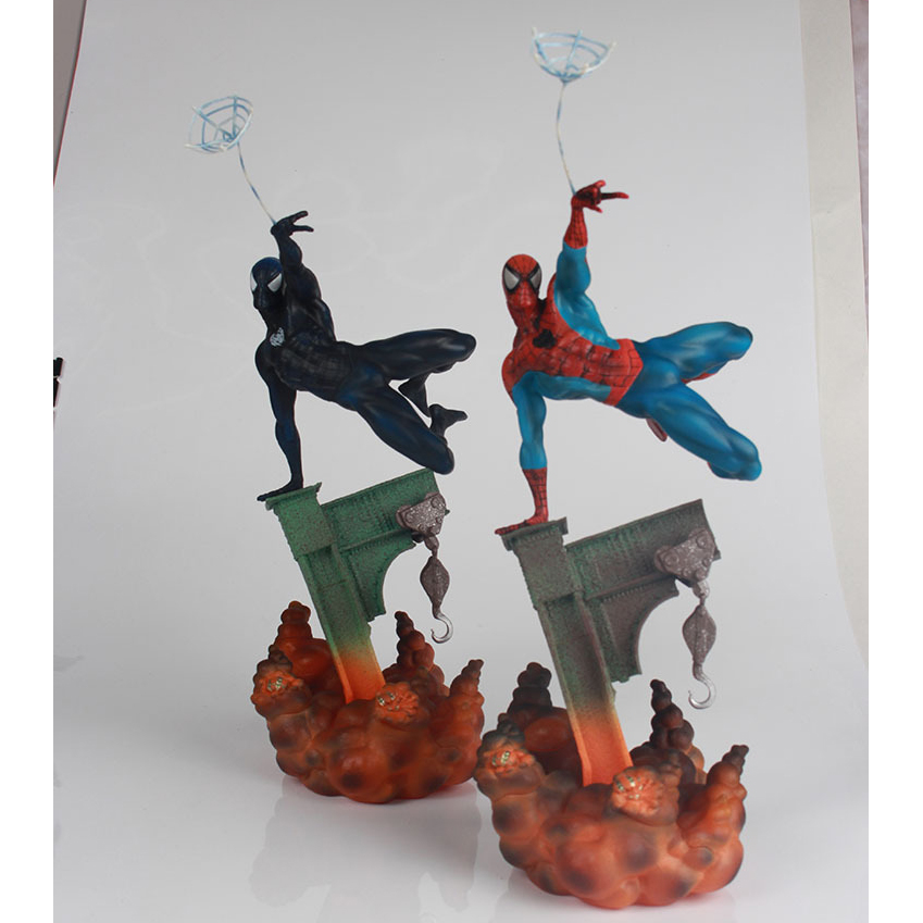 Marvel Sideshow Spiderman Action Figure The Amazing Spider-Man 2 Colors Toy 29cm slott dan amazing spider man volume 1 the parker luck