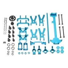 Wltoys A949 A959 A969 A979 K929 1/18 RC Car Repuestos Conjunto Completo de Plata Metal Actualización de Piezas