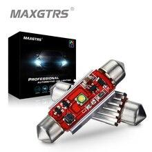 2x автомобильный фестон C5W Cree чип лампы 31 мм/36 мм/39 мм/41 мм 7 Вт 12 В светодиодный светильник для автомобиля интерьерная купольная лампа для чтения номерного знака