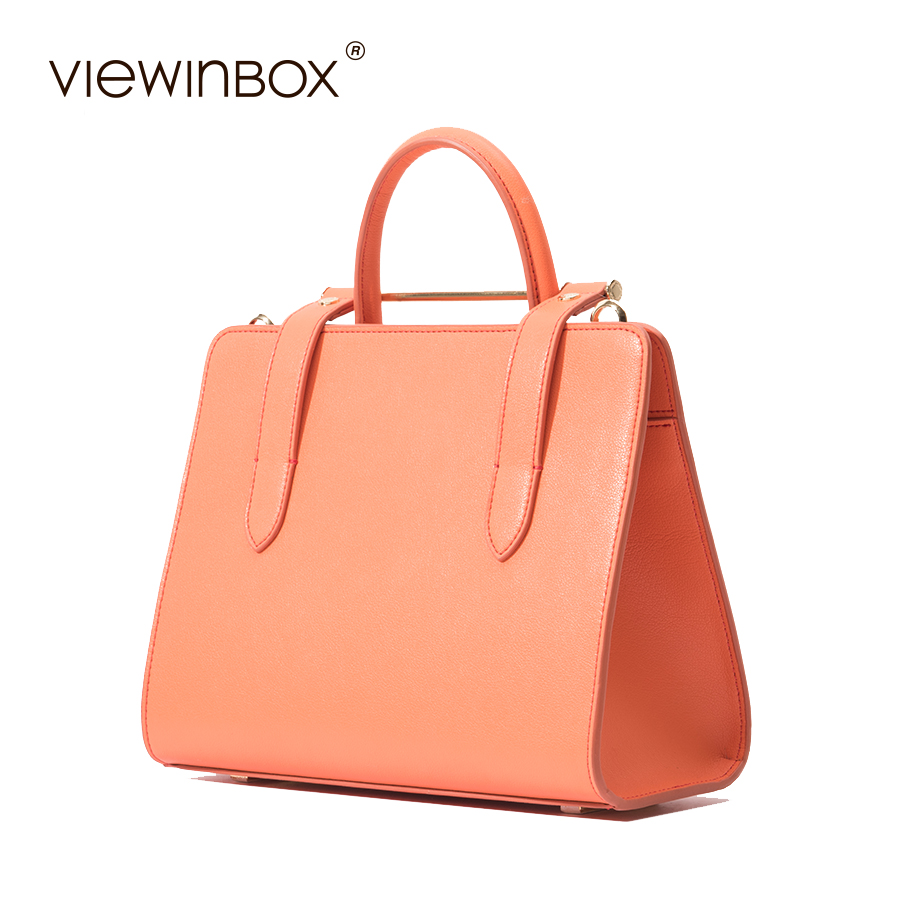Viewinbox Split Leather Ol Handbags Fashion Mini Crossbody Bags Luxury Handbags