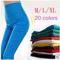 Novo 2015 Primavera Outono das Mulheres Esticar Calças Doces Calças Lápis de Cor Mulheres Calças Skinny legging Calças para as mulheres G0416