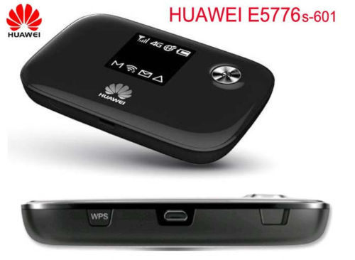 New Unlock Huawei E5776s-601 4G LTE FDD TDD Wireless Router 150M Wifi Modem&huawei AF10 adapter new forcummins insite date unlock proramm