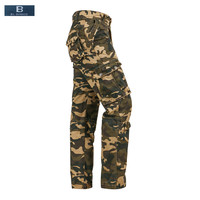 EL BARCO New Autumn Cotton Camouflage Men Cargo Pants Soft Military Grey Khaki Army Green