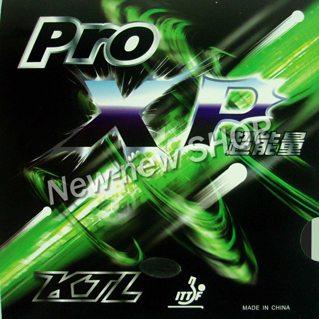 KTL Pro XP Pips-In Table Tennis (PingPong) Rubber with Sponge