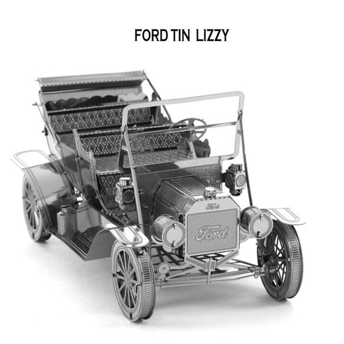 Nanyuan Ford Vintage Car 3D Metal Puzzle Jigsaws Metal Earth 3D ...