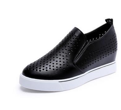 argent Grande 35 39 Dames Taille Coudre forme blanc Élégant Plate La Noir Femmes En 2018 Superstar À Mode Confortable Chaussures Cuir Sneakers RSTqZAfSwx