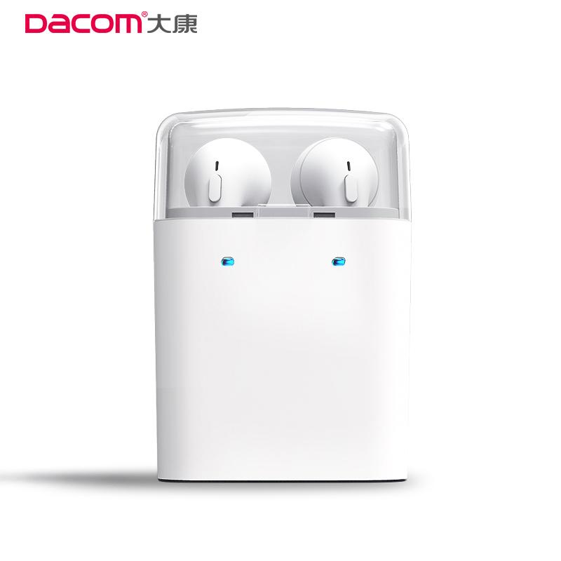 Prix pour Dacom GF7tws Bluetooth Écouteurs TWS Écouteurs Vrai Sans Fil Sport Casque Stéréo Musique Headsfree Avec Microphone Pour Les Téléphones Intelligents