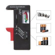 Универсальный BT168 цифровой тестер батареи Вольт проверки для AA AAA 9 В Кнопка многоразового размера батареи тестер напряжения измеритель инструменты BT-168