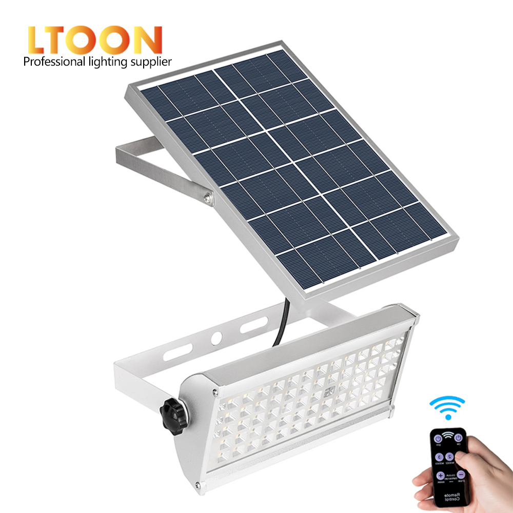LTOON 65Leds Solar Light Super Bright 12W Spotlight Wireless Outdoor Waterproof Garden Solar Powered Lamp