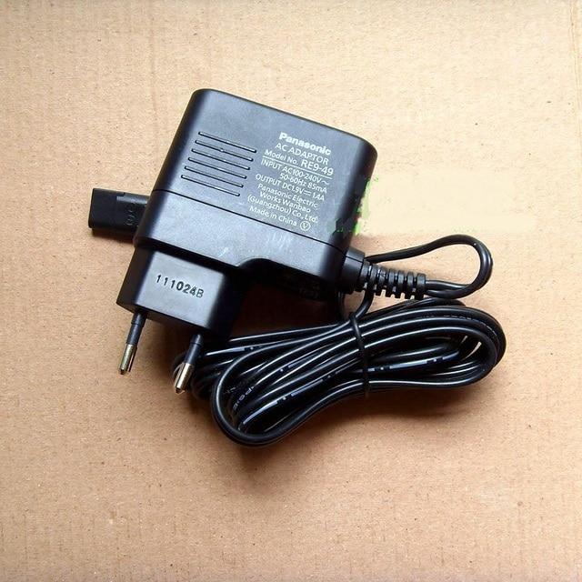 Оригинал 1.9 В 2-зубец ЕС Дюбеля Адаптер Питания Зарядное Устройство для Panasonic RE9-49 ER-CA35-CA65-CA70 ER2061 ER2211 Волос Устройство