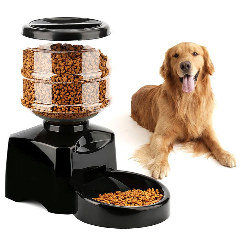 Pet Feeder 5 5L Automatic Feeder Electronic Digital Display Bowl Dispenser for Dog Cat WXV Sale in Dog Feeding from Home Garden