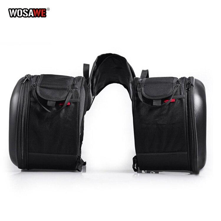 2 pcs Moto selle sacs queue sac Moto équitation côté sac chevalier casque sac Moto pièces pour Honda pour Suzuki pour Kawasaki