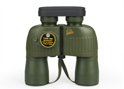 Tactical Hunting Military 7x50 Telescope Binocular For Hunting Shooting Green Color CL3-0043
