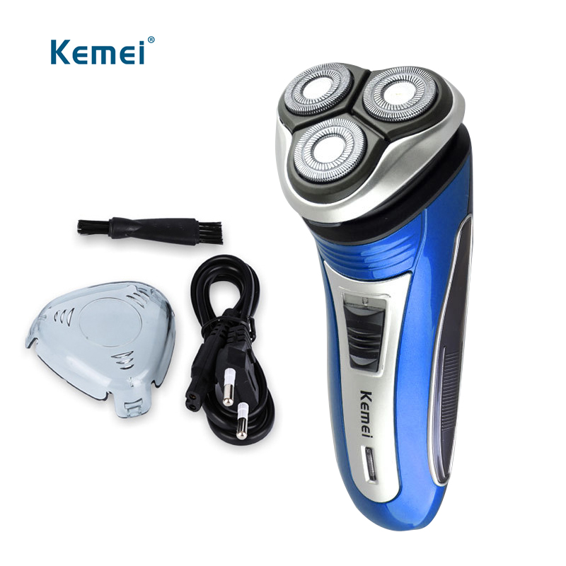 Kemei electric hair trimmer rechargeable shaver hair removal safety beard razor for men face careKemei electric hair trimmer rechargeable shaver hair removal safety beard razor for men face care