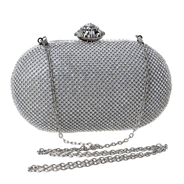 Women's Rhinestones Gorgeous Clutch Bags