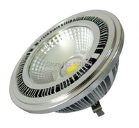 Free Shipping High Power Dimmable 15W COB AR111 Led Spotlight 15W AR111 LED Recessed Light Led