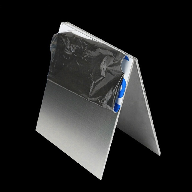 15mm dpaisseur 100x100mm ss304 tle dacier inoxydable en mtal plaque tout