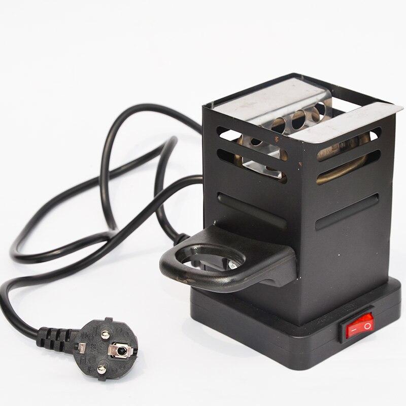 Black Shisha Hookah Charcoal Stove Heater Coal Burner Hot Plate Chicha Narguile Accessories EU Plug 220v/50v 600w