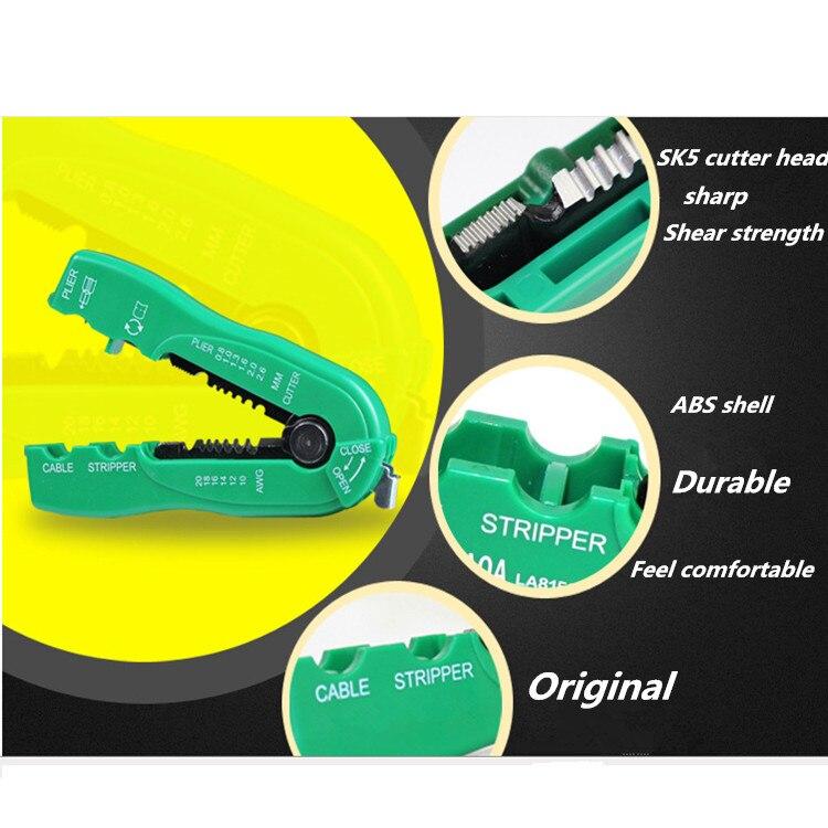 Bränd Mini tangid Wire Stripper Multifunktsionaalne kaabel Wire - Käsitööriistad - Foto 5