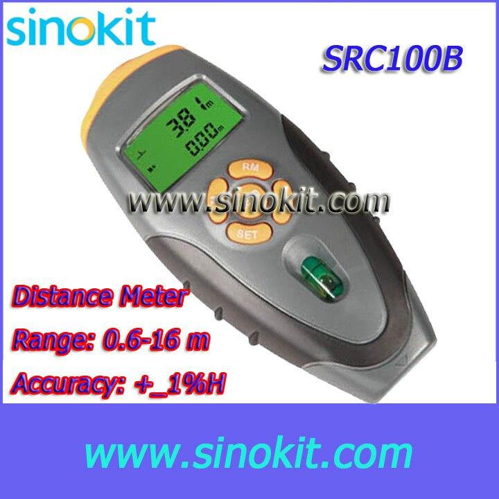 ФОТО Range 0.6-16 m Multifunction Lase Distance Meter - SRC100B