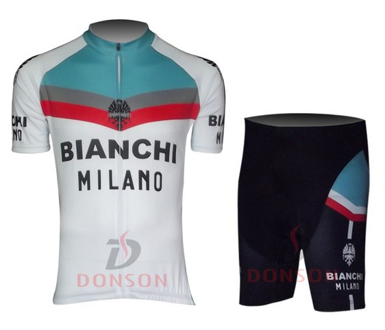 88190622c 2013 Bianchi Short Sleeve Cycling jersey+ shorts ciclismo Clothing MTB  A65-in Cycling Jerseys from Sports   Entertainment on Aliexpress.com