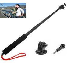 Discount! Gopro Accessories! Extendable Handheld Telescopic Monopod Holder Wand +Tripod +Screw for Gopro Hero 3 2 1 3+ Free shipping
