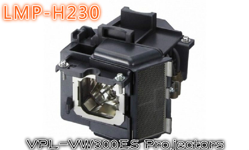 Fit For SONY VPL-VW300ES  Projector Lamp with Original Ushio OEM Bulb Inside LMP-H230 lmp h160 lmph160 for sony vpl aw10 vpl aw10s vpl aw15 vpl aw15s projector bulb lamp with housing with 180 days warranty
